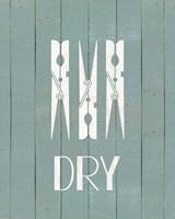 Wash House Dry Fine Art Print