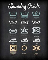 Laundry Guide Fine Art Print