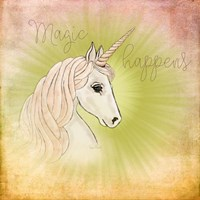 Magic Happens Fine Art Print