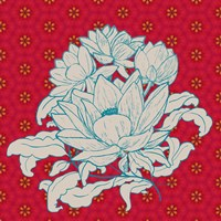Lotus Bouquet I Fine Art Print
