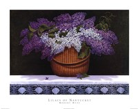 Lilacs of Nantucket Fine Art Print