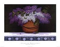 "Lilacs of Nantucket by Robert Duff - 28"" x 22"", FulcrumGallery.com brand"