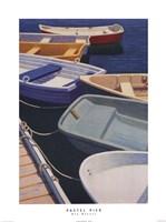 Pastel Pier Fine Art Print