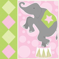 Baby Big Top IX Pink Fine Art Print