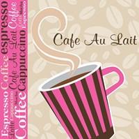 Cafe Au Lait Cocoa Punch I Framed Print