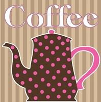 Cafe Au Lait Cocoa Punch VI Framed Print