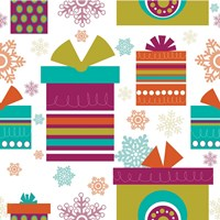 Mod Christmas IV Fine Art Print