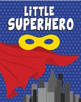 Little Superhero Fine Art Print