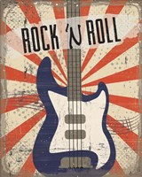 Rock 'n Roll Fine Art Print