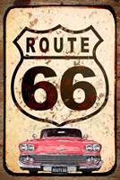Route 66 Car Fine Art Print