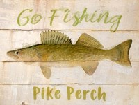 Pike Perch Fine Art Print
