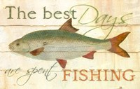 Best Days Fishing Fine Art Print