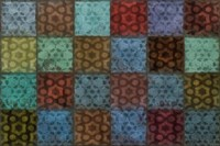 Mosaic Tiles II Fine Art Print