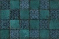 Mosaic Tiles IV Fine Art Print