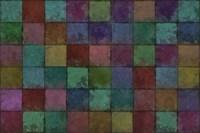 Mosaic Tiles V Fine Art Print