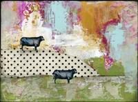 Two Bulls Fine Art Print