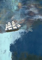 The Dark Blue Ocean Fine Art Print