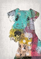 Abstract Dog Fine Art Print