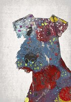 Abstract Dog II Fine Art Print