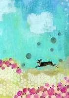 Vertical Brown Bunny Fine Art Print
