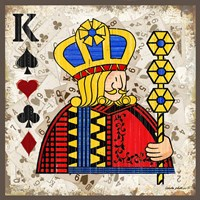 King of Spades Fine Art Print