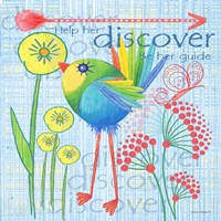 Lil Bird III Fine Art Print