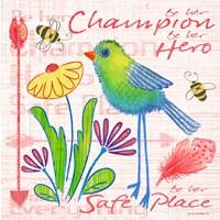 Lil Bird IV Fine Art Print