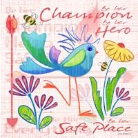 Lil Bird V Fine Art Print