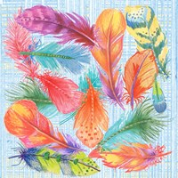 Lil Bird Feathers Fine Art Print