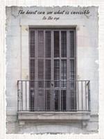 Windows of the World I Fine Art Print