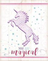 Magical Unicorn Fine Art Print