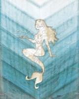 Coastal Mermaid II Framed Print