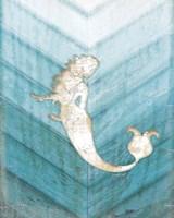 Coastal Mermaid IV Fine Art Print