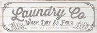 Laundry Co - Gray Fine Art Print