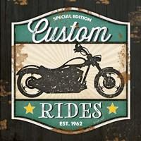 Custom Rides Framed Print