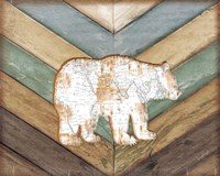 Lodge Bear Fine Art Print