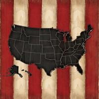 United States Fine Art Print