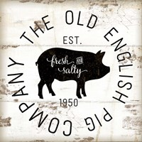 The Old Pig Company Framed Print