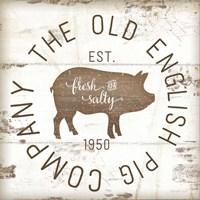 The Old Pig Company II Framed Print