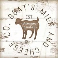 Goat's Milk and Cheese Co. II Fine Art Print