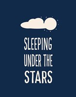 Sleeping Under the Stars Fine Art Print