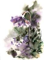 Purple Floral Fine Art Print