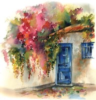 Blue Door Fine Art Print