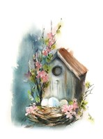 Bird House Fine Art Print