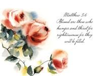 Roses w/ a Verse Fine Art Print