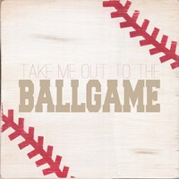 Take Me Out to the Ballgame Fine Art Print