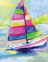 Sunset Boat III Fine Art Print