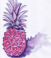 Purple Pineapple Fine Art Print