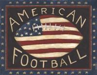 American Football Fine Art Print