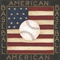 American Baseball Fine Art Print